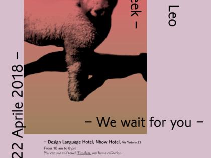 LANIFICIO LEO @ MILANO DESIGN WEEK 2018
