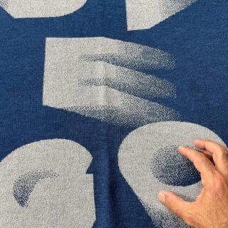 Grazie alle nostre nuove macchine da maglieria full jacquard è possibile produrre anche un solo pezzo su disegno. Tra le tante applicazioni di questa flessibilità tecnologica c'è quella di realizzare piccoli plaid custom per neonato in cui possiamo riprodurre il nome facendone sempre un progetto originale. Questo prodotto può essere anche appeso come arazzo grazie a due asole integrate dell'intreccio.  Solo su ordinazione.  #scarves #merinowool #winteriscoming #textiledesign #madeinitlay #slowfashion #jacquard #design #textileoftheday #scarf #winteroutfit #winterfashion #onlineshopping #inspiration #autumn #fall #weaving #uniquedesign #uniquegifts #contemporaryweaving #tailormade #custom #giftideas #ideeregalo #inverno #autunno